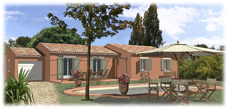 Nos maisons maisons blanches constructeur de maisons individuelles proven - Les maisons provencales ...