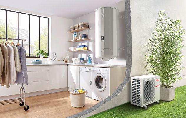 un chauffe eau thermodynamique dans votre maison nos conseils. Black Bedroom Furniture Sets. Home Design Ideas