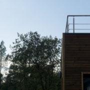 toit terrasse maison moderne