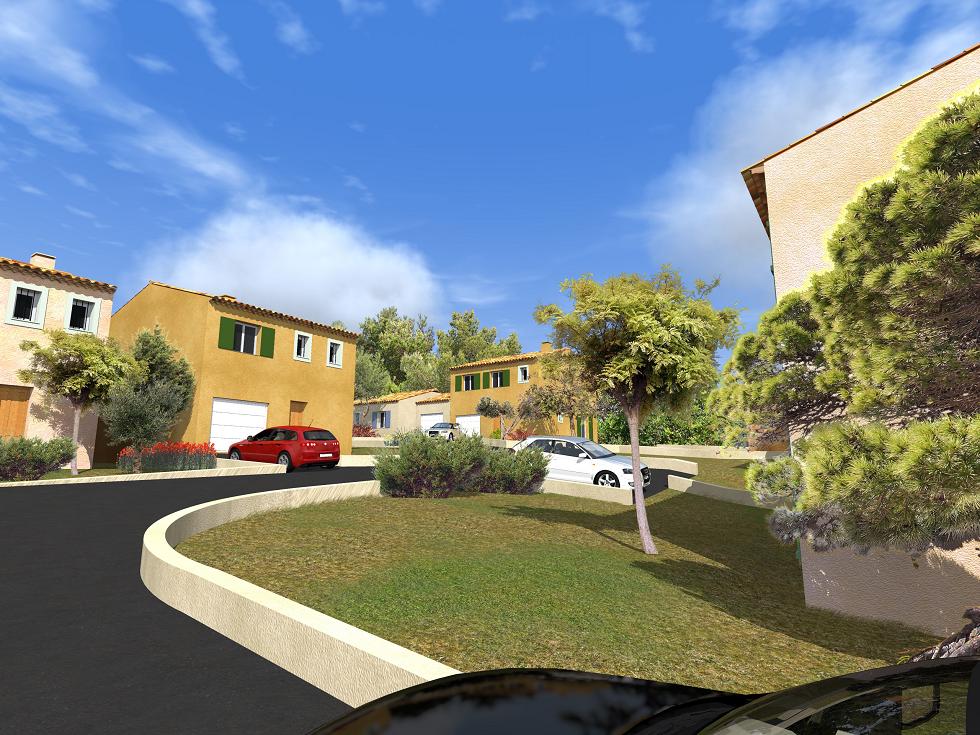 Saint maximin maisons blanches constructeur de maisons for Constructeur de maison contemporaine dans le var