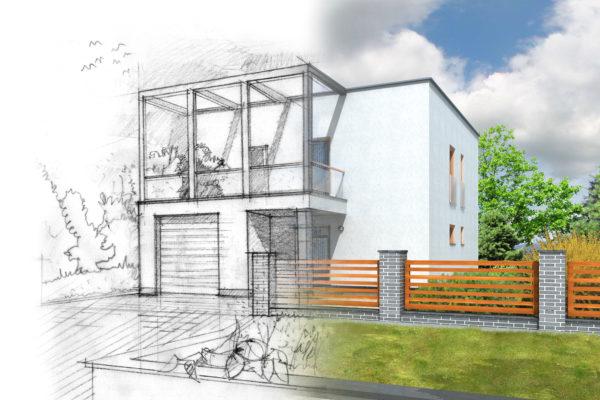 Du plan d architecte a la maison individuelle