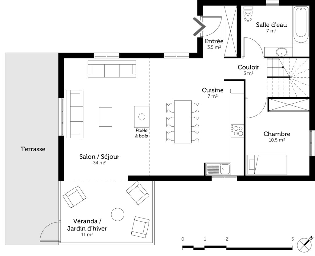 Guide complet pour la cr ation des plans d 39 une maison for Plan de maison de 90m2