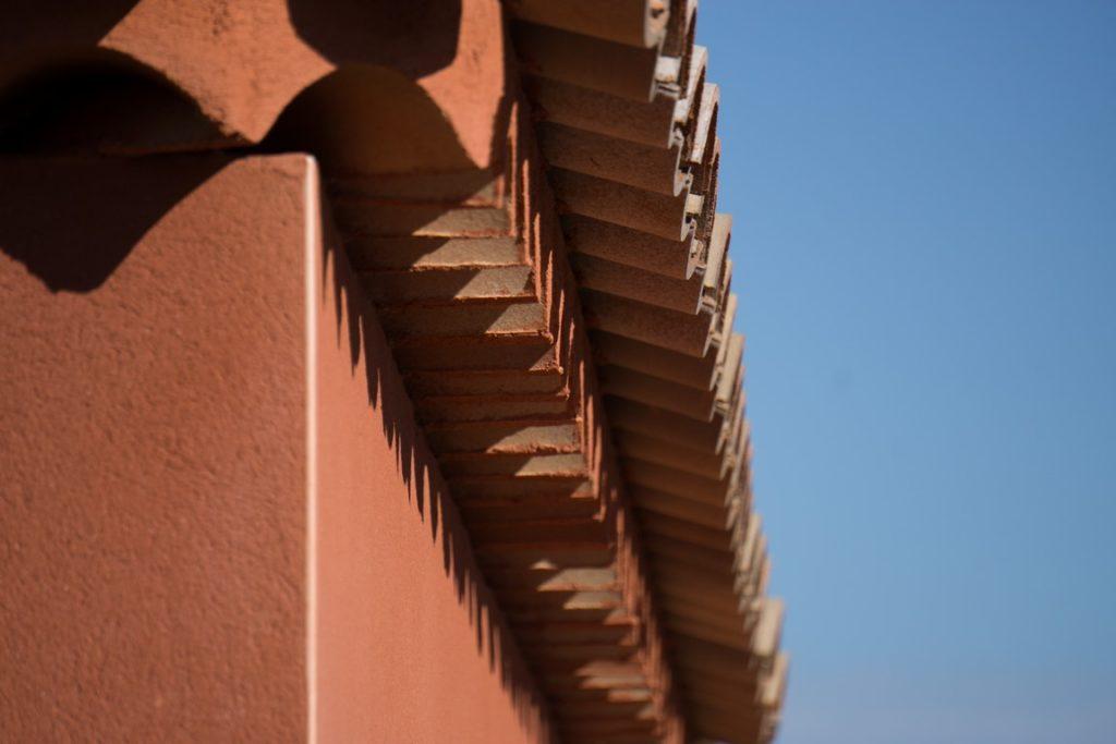 la génoise et la couleur d'une maison provençale