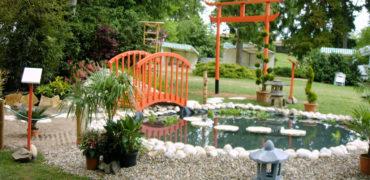 Décoration jardin a la japonaise