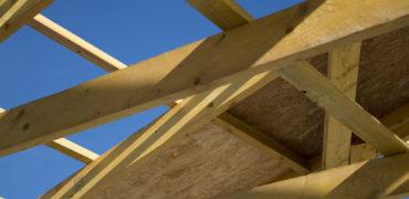 charpente en bois maisons blanches