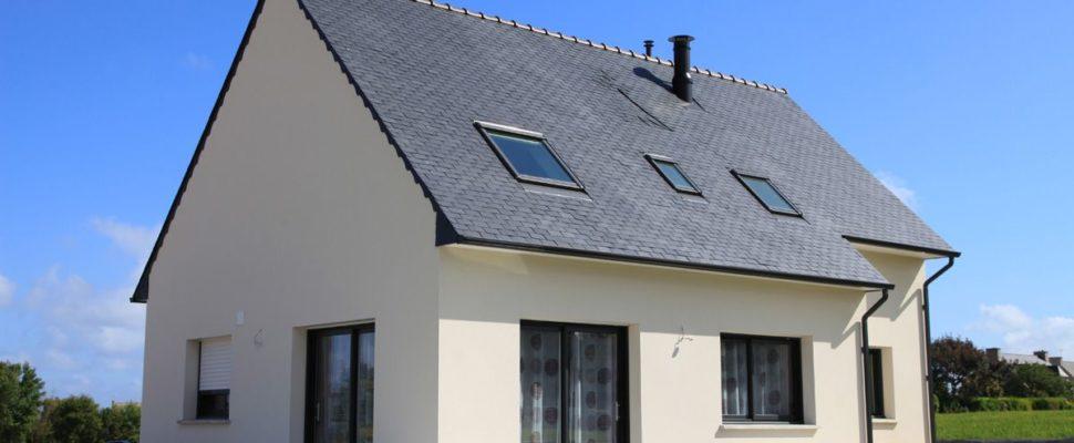 maison neuve toit