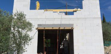 chantier en cours construction maison