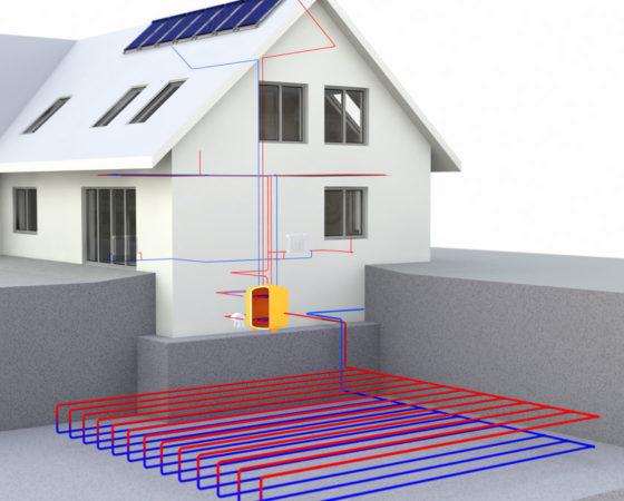 geothermie chauffage par chaleur du sol